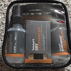 Timberland Cleaning Kit Brand new. Never used. Contains a dry cleaning kit, a 2.03 fl.oz all purpose protector, and a 2.03 fl.oz suede snd nubuck cleaner. Timberland Other