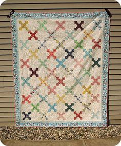 Vanilla & Blooms Quilt | by twinfibers