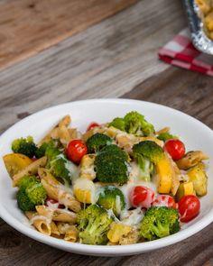 Pesto Pasta Freezer Prep Dinner Bake Recipe by Tasty