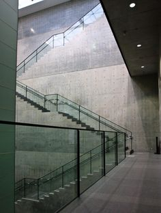 Hyogo Prefectural Museum of Art    Designed by Tadao Ando