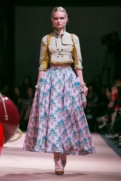 A look from the Undercover Spring 2015 RTW collection.