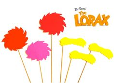 Dr Seuss' The Lorax Photo Booth Prop