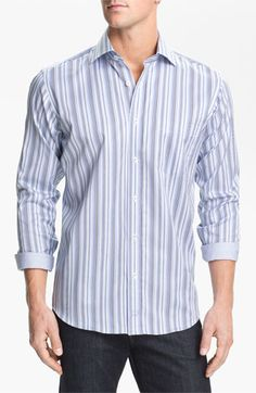 Bugatchi Uomo Classic Fit Sport Shirt available at #Nordstrom