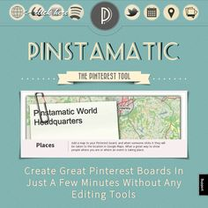 // pinstamatic (web based tool that helps create different types of pins! Marketing Trends, Content Marketing, Social Media Marketing, Create Quotes, Software, Images Gif, Branding, Applications, Sticky Notes