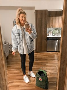 winter outfits with leggings Bre Sheppard casual s - winteroutfits Winter Outfits 2019, Fall Outfits For School, Cute Fall Outfits, Casual Winter Outfits, Summer Outfits, Rainy Day Outfit For School, Casual Clothes, Comfy College Outfit, College Winter Outfits