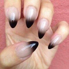 Stiletto nails... love!
