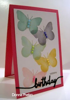 Crafting By The Beach: Birthday Butterflies