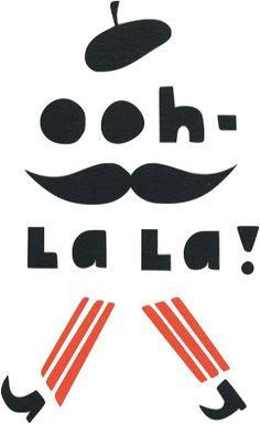 The only thing you need to know how to say in French in order to master it… oh la la la la la la la la la…etc...