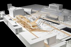 Helsinki Central Library Competition Entry / STL Architects,model 02