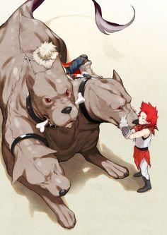 Boku no Hero Academia    Katsuki Bakugou, Kirishima Eijirou.