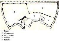 CENTRE FOR DEVELOPMENT STUDIES LOCATION: TRIVANDRUM ARCHITECT: LAURIE BAKER 1967