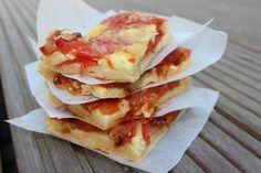 Einfaches Rezept für saftigen Tomatenkuchen- superlecker auch fürs Picknick