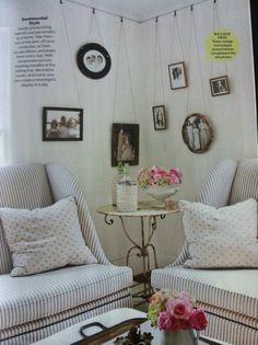 Cute corner filler idea!