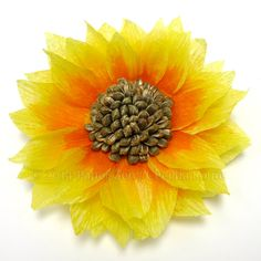 Paper Zen: How to make a Paper Sunflower
