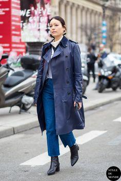 Paris Fashion Week FW 2015 Street Style: Rachael Wang (STYLE DU MONDE)