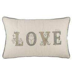 Buy the Natural Love Cushion | Cushions | The Range