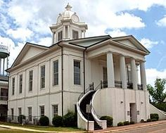 Lowndes County Courthouse #ALFrontPorches