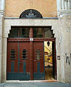 Budapest Jewish Quarter - Art Nouveau by elinor04 thanks for 1 million+ views!, via Flickr