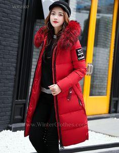 Meihet Men Down Jacket Winter Warm Coat Zipper Long Sleeve Stand Collar Outwear