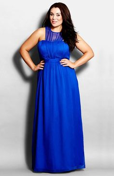 City Chic 'Royale' Maxi Dress (Plus Size) available at #Nordstrom