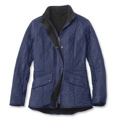 Just found this Womens Quilted Fleece Lined Jacket - Barbour%26%23174%3b Cavalry Polarquilt Jacket -- Orvis on Orvis.com!
