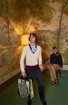 Gucci Cruise Campaign Features Wes Anderson Style Dance Off