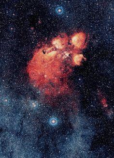 Cat's Paw Nebula.