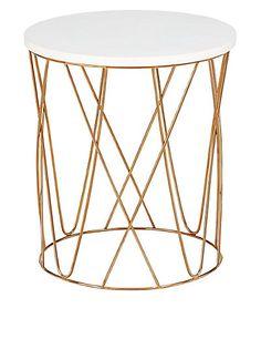 Lena Copper Side Table