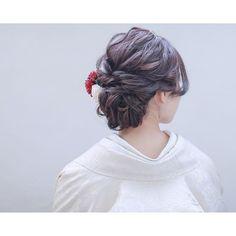 Up Styles, Hair Styles, Japanese Hairstyle, Yukata, Wedding Hairstyles, Kimono, Instagram, Fashion, Moda