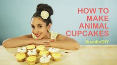 As you know, it is Easter coming up, a time of chocolates and treasure hunts. That is why today's episode is: how to make animal cupcakes (in the shape of bu. Cupcake Youtube, Animal Cupcakes, Today Episode, Cake Decorating Tips, Easter Treats, I Laughed, Hilarious, How To Make, Diy