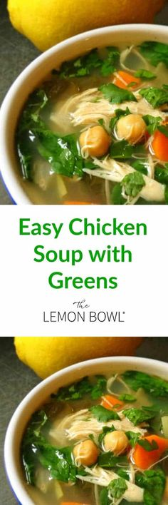 Loaded with fresh veggies and plenty of lean protein, this is the perfect meal-in-a-bowl chicken soup that will warm the belly and soul. Baby Food Recipes, Soup Recipes, Cooking Recipes, Healthy Recipes, Crockpot Recipes, Recipies, Vegetable Soup With Chicken, Chicken Soup, Curry Stew