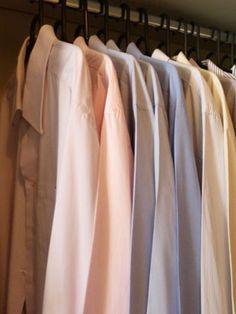 #organização Você divide o espaço do guarda-roupa com seu marido e é tudo misturado? Então, aprenda como organizá-lo: http://bbel.me/1y9XeaI.
