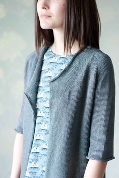 brise cardigan... quince & co... linen sparrow...