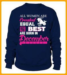 December The best women are born in december T shirt - Geburtstag shirts (*Partner-Link)
