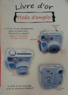 Mode d'emploi Polaroid