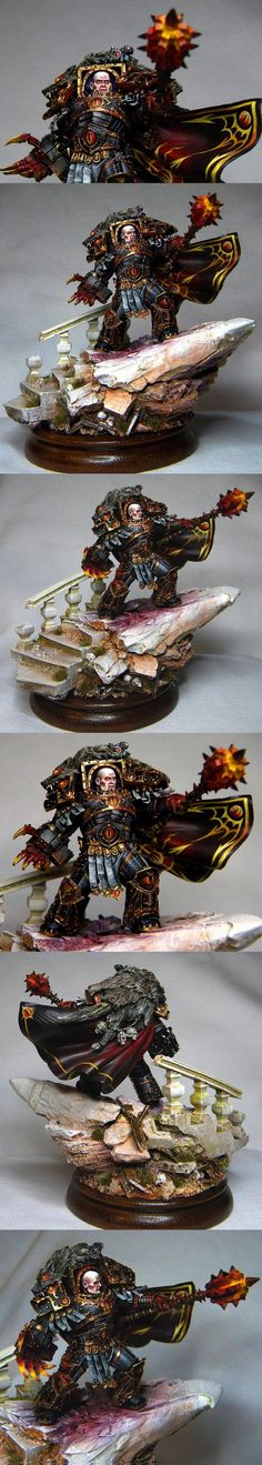 The Internet's largest gallery of painted miniatures, with a large repository of how-to articles on miniature painting Warhammer Paint, Warhammer 40k Art, Warhammer 40k Miniatures, Minis, Chaos Legion, Chaos 40k, Sons Of Horus, Game Workshop, Fantasy Miniatures