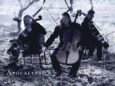 Apocalyptica-These guys can rock some chellos