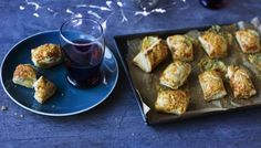 If you& expecting guests this Christmas Eve, the smell of these little pastries bubbling in the oven will tempt and tease the taste buds. Puff Recipe, Puff Pastry Recipes, Recipe Box, Canapes Recipes, Appetizer Recipes, Cooking Time, Cooking Recipes, Nigel Slater, Puff Pastry Sheets