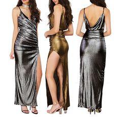 Chic e luminosa la tendenze per questo inverno vede, come protagonisti colori caratterizzati da laminatura. Metal trendy abiti …