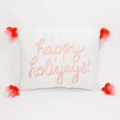 Bring holiday cheer to your space with this adorable LC Lauren Conrad Christmas Bedroom, Christmas Pillow, Plaid Christmas, Christmas Treats, Christmas Time, Christmas Decorations, Bohemian Christmas, Lc Lauren Conrad, Holiday Gifts