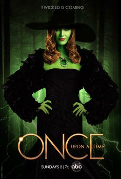 """Zeldna as Wicked of the East (Wizard of Oz) in """"Once a Upton A Time"""" TV show"""
