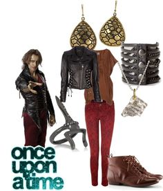 Cool OUAT Rumpelstiltskin inspired outfits, plus how to recreate the costume from the show!