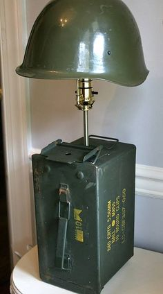 world war 2 helmet lamp awsosome!!!!!!!!!!!!!!!!!!!!!!!!!