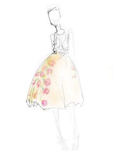 Follow Fashion Week Through Our Editor's Sketchbook : Lucky Magazine
