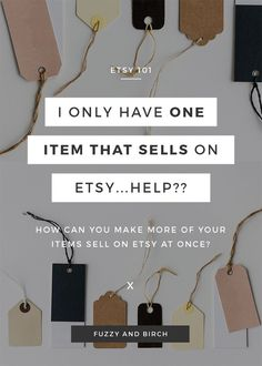 I keep selling one item on Etsy over and over. What gives? This week's seller has one item that's going absolutely NUTS in her shop. Meanwhile, her other items (which are pretty friggin' remarkable by the way…) are just sitting there. And she's OVER IT. How can you make sure your WHOLE shop sells?? Watch to find out.
