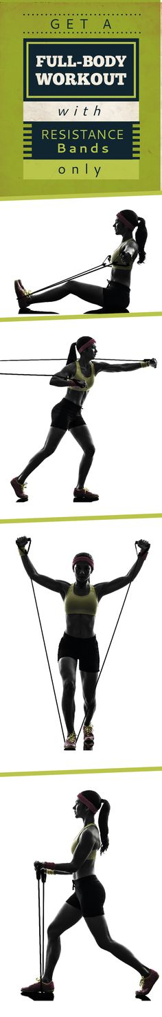 Work every major muscle group with a simple total-body resistance band workout. Exercise doesn't have to be complicated for it to be effective. Start here!