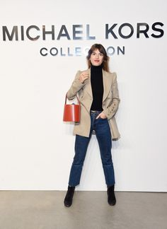 Jeanne Damas Photos Photos - Michael Kors Collection Fall 2017 Runway Show - Front Row - Zimbio