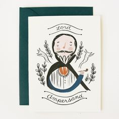 Lord Ampersand Card / Quill & Fox