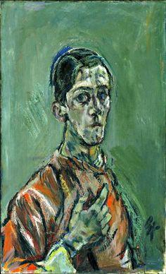 Kokoschka, Self Portrait