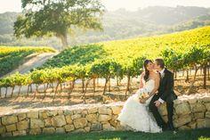 Elegant Vineyard Wedding on Borrowed & Blue.  Photo Credit: Cameron Ingalls Photography & Films